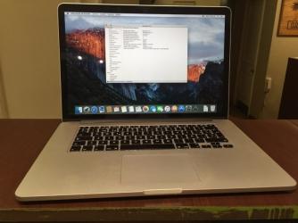 Programa de retiro de batería del MacBook Pro de 15 pulgadas